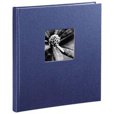 Hama Boekalbum Fine Art 29 X 32 Cm 50 Witte Pagina's Blauw