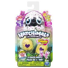 Hatchimals Colleggtibles Hatch Friends Forever 2 Pack + Nest Seizoen 3