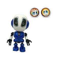 Die-Cast Robot met Licht en Geluid Blauw