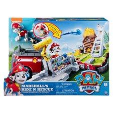 Paw Patrol Marshall's Ride 'N Rescue Transforming Brandweerauto + 3 Figuren