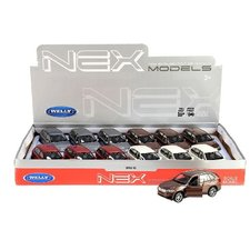 Welly 1:38 BMW X5 Assorti Display 12 Stuks