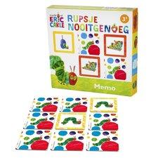 Bambolino Toys Rupsje Nooitgenoeg Memorie met 40 Kaartjes