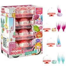 Num Noms Mystery Packs Party Hair Assorti Display 24 Stuks