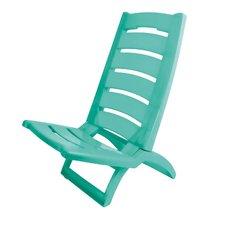 Opklapbare Strandstoel 37x79 cm Turqoise