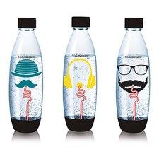 Sodastream Hipster Fuse Flessen 1L 3 Stuks