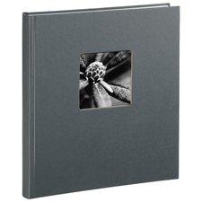Hama Boekalbum Fine Art 29 X 32 Cm 50 Witte Pagina's Grijs