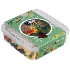 Hama 8744 Maxi Box met 600 Strijkkralen + Grondplaat