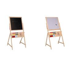 Schoolbord Whiteboard Hout 2 In 1