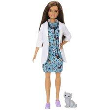 Barbie Dierenartspop met Dier + Accessoires