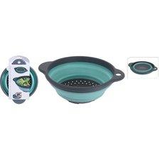 Excellent Houseware Opvouwbare Vergiet 23 cm Grijs/Groen