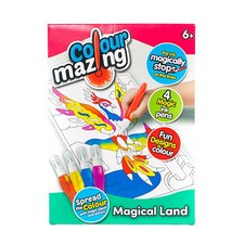 Colourmazing Magical Land