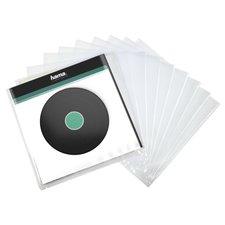 Hama LP-buitenhoes Transparant 10 Stuks