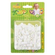 Hama Maxi Beads Strijkkralen 250 Stuks Wit