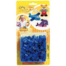 Hama Maxi Strijkkralen Blauw 250 Stuks