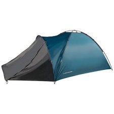 Dunlop 4-Persoons Kampeertent 210x250x130 cm Blauw/Grijs