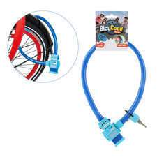 BicyCool Robot-Fietsslot + 2 Sleutels Blauw