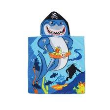Piratenhaai Poncho 60x60 cm