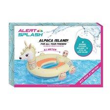 Alert Splash Opblaasbare Lama Eiland met 5 Stickers 310x270x175 cm