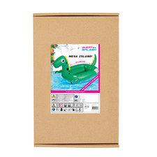 Alert Splash Mega Opblaasbaar Dino Eiland 240x180 cm