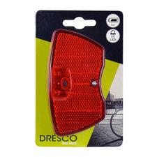 DRESCO Achterlicht Reflector En Batt