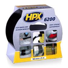 HPX Pantsertape Zwart 50mmx5m