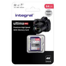 Integral Sdxc V30 100/70mbs Pro 64gb