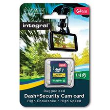 Integral Sdxc Dash En Security-cam 64gb