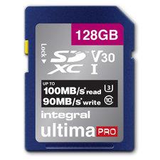 Integral Sdxc V30 100/90mbs Pro 128gb