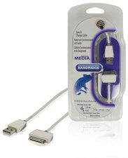 Bandridge Bbm39100w20 Synchronisatie- en Oplaadkabel voor Ipod/iphone/ipad