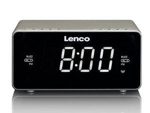 Lenco CR-530 Wekkerradio Taupe