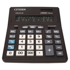 Citizen CI-CDB1401BK Calculator Business Line Zwart Desktop
