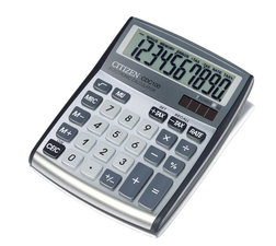 Citizen CI-CDC100 Calculator CDC100 C-series Desktop DesignLine Silver