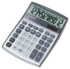 Citizen CI-CDC112 Calculator CDC112 C-series Desktop DesignLine Silver