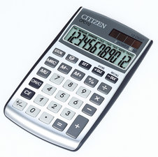 Citizen CI-CPC112 Calculator Pocket C-series DesignLine Zilver