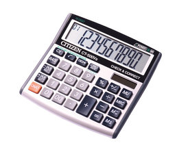 Citizen CI-CT500VII Calculator CT500VII Desktop BusinessLine Black