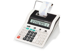 Citizen CI-CX123N Calculator Printing CX123N Desktop DesignLine White/black