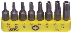 C. K. Ck-4527 8-delige Bit Set Safetytorx