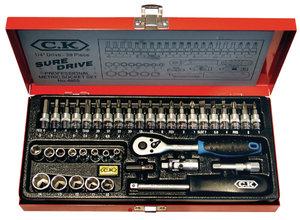 C.K. CK-4655 39-delige Dopsleutel Set