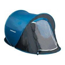 Dunlop 1-Persoons Pop-Up Tent 220x120x90 cm Blauw/Grijs