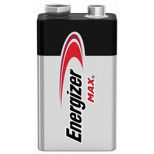 Energizer EN-MAX9V1 Alkaline Battery 9 V Max 1-blister