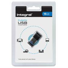 Integral FD2-16G-MICRO Usb2.0 Stick 16 Gb Fusion