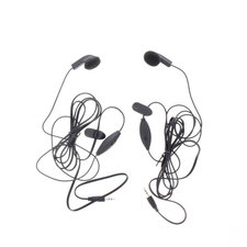 Cobra GA-EBM2 Headset In-ear 2.5 Mm Ingebouwde Microfoon 142 Cm Zwart