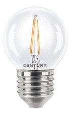 Century INH1G-042727 Filament Incanto Led Lamp Globe 4w E27 2700k 395 lumen