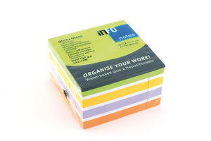 Info Notes IN-5654-52 75x75mm Assorti Color Mix Blok A 450 Vel