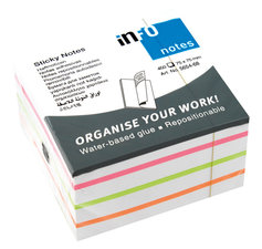 Info Notes IN-5654-68 75x75mm Mix Blok A 450 Vel