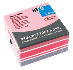 Info Notes IN-5654-69 75x75mm Mix Blok A 400 Vel