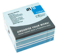 Info Notes IN-5654-70 75x75mm Mix Blok A 400 Vel
