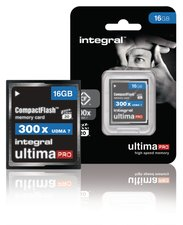 Integral INCF16G300W Cf (compact Flash) Geheugenkaart 16 Gb