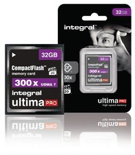 Integral INCF32G300W Cf (compact Flash) Geheugenkaart 32 Gb