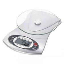 Medisana KS 220 Digitale Keukenweegschaal Zilver/Glas